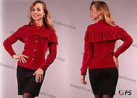 """Рубашка женская велюровая (42-46) """"Latoria""""   2P/NR-5689"""