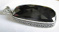 Крупный кулон с  черным ониксом от студии LadyStyle.Biz, фото 1