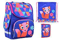 Набор Smart для девочки рюкзак 554505, пенал 531685, сумка 555236