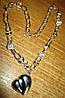 """Серебряное ожерелье  """"Любимое"""" от студии LadyStyle.Biz"""