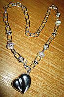 """Серебряное ожерелье  """"Любимое"""" от студии LadyStyle.Biz, фото 1"""