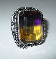 Серебряный перстень с аметрином 17 размера от LadyStyle.Biz, фото 1