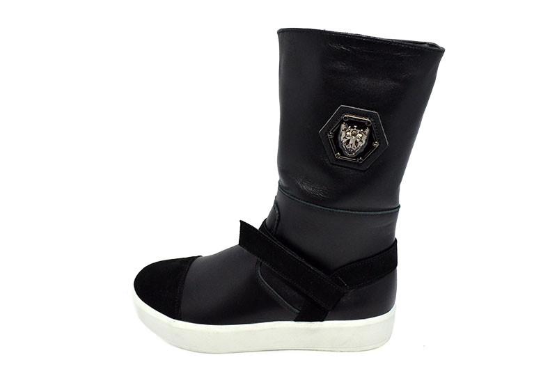 Сапоги женские зимние Arcoboletto 522 Black - Sezon интернет-магазин обуви  в Черновцах 4b7cb60509dfd