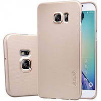 Чехол Nillkin Matte для Samsung Galaxy S6 Edge Plus (+ пленка) Золотой