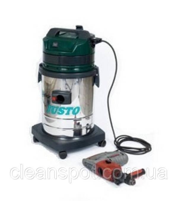 Delvir Justo профессиональный пылесос для сухой уборки с розеткой для электроинструмента