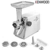 Электрическая мясорубка Kenwood KNG2020, электромясорубка для кухни, металлическая мясорубка электрическая