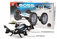 Дрон и автомобиль 2 в 1 Lishitoys L6055 2.4G4CH 6Axis Вертолет Drone