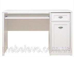 Гербор Салерно стол письменный BIU1D1S  785х1200х645мм белый