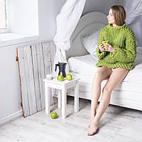Вязанный свитер из толстой пряжи Maxi, цвет Зеленое Яблоко, фото 1