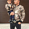 Модная весенняя куртка бомбер для мальчика (134-152р)
