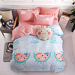 Комплект постельного белья Улыбка (полуторный) Berni