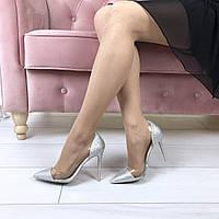 Туфли лодочки силикон + обувной текстиль