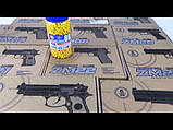 Пистолет ZM22 металл + пластик, фото 2