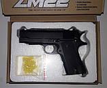 Пистолет ZM22 металл + пластик, фото 5