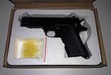 Пистолет ZM22 металл + пластик, фото 4