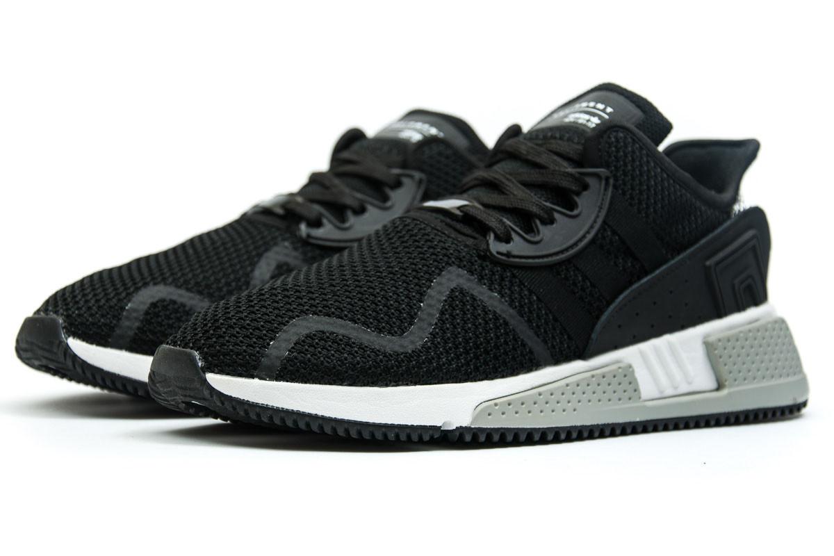 Кроссовки мужские Adidas  EQT Cushion ADV, черные (11842) размеры в наличии ► [  44 (последняя пара)  ]