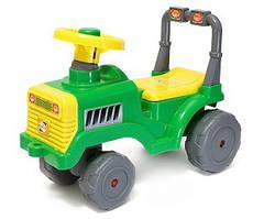 Машинка для катания БЕБИ ТРАКТОР зеленый ОРИОН 931