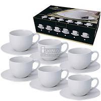 FD-212 Чайный набор 12пр Белый