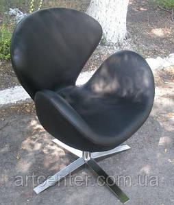 Дизайнерське крісло, крісло для ресторану, крісло для відвідувачів (СВ чорний)