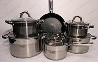 Набор посуды из нержавеющей стали Krauff 26-242-003