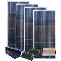 Автономная Солнечная электростанция - Дом 280/80кВт*ч в мес.