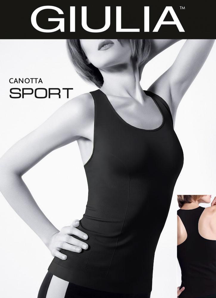 Спортивная майка борцовка бесшовная CANOTTA SPORT