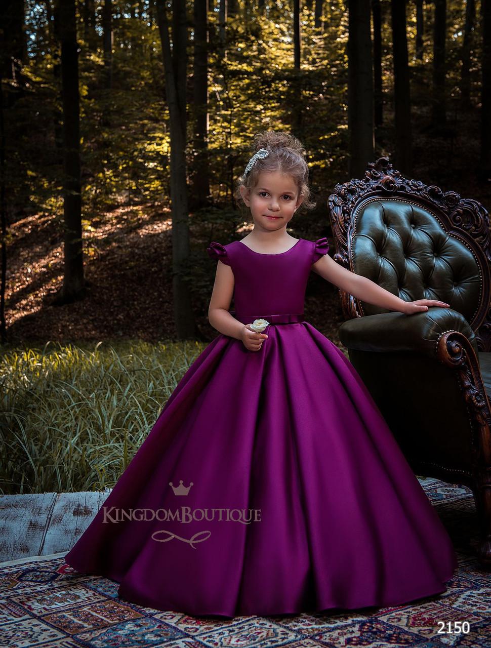 Платье детское длинное вечернее. От года до 11 лет