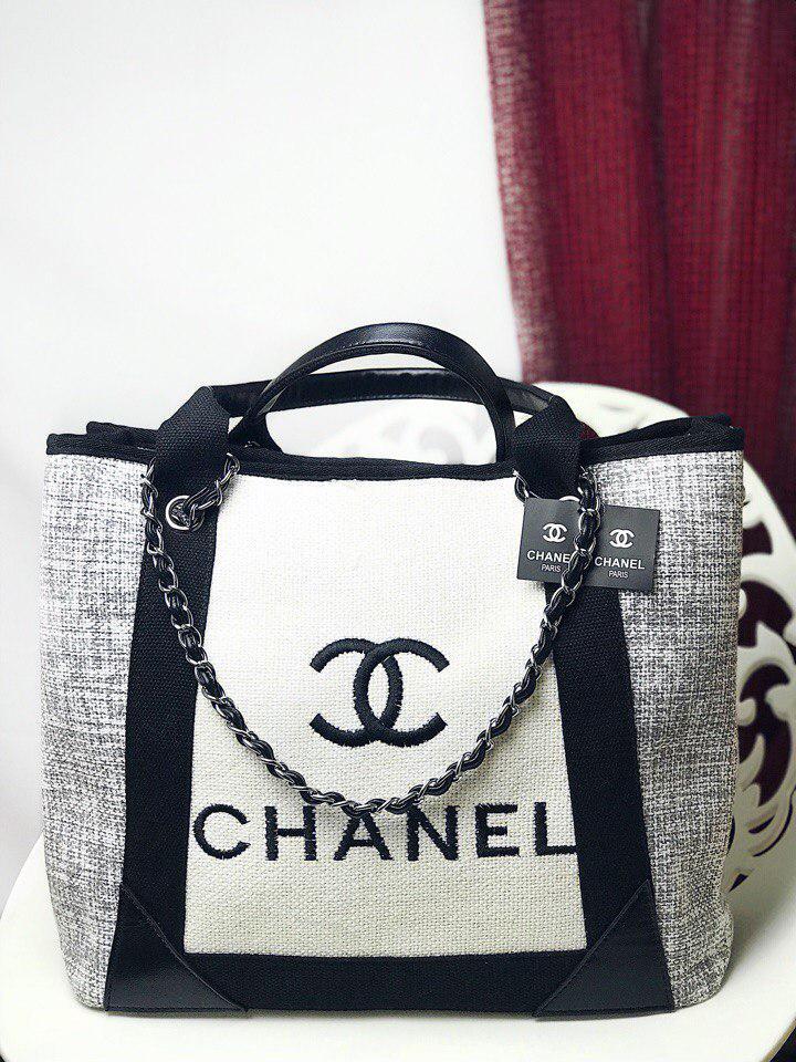 daec4354e9c3 Сумка в стиле Шанель биг копия люкс вязка люкс. : продажа, цена в ...