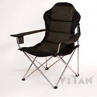 """Кресло раскладное рыбацкое , стул туристический """"Мастер -карп"""", практичный, удобный, комфортабельный"""