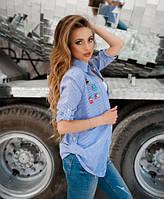 Комплект рубашка со значками и майкой, фото 1