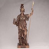 """Подарок бронзовая статуэтка """"Афина"""" 35 см. Подарок военному, генералу, полковнику"""