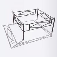 Ограждения металлические для газонов ТИП-1 | Стоимость газонных ограждений от производителя