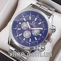 Мужские наручные часы Omega M125 на металлическом браслете