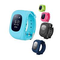 Умные детские часы с GPS трекером Smart Baby Watch Q50 (OLED) 5 Цветов