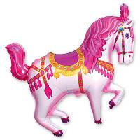 Фольга большая Цирковая лошадь №3