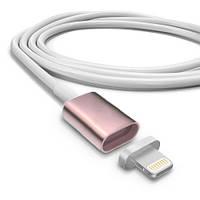 Универсальный магнитный кабель Magnetic Cable 2 в 1 для Android + Iphone