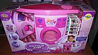 Игровой набор для девочки 0923 2028 Уютный дом Машинка стиральная, утюг и гладильная доска