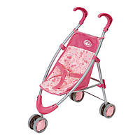 Коляска-трость для кукол Baby Annabell, розовая с барашками 794470