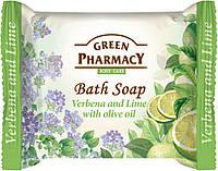 """Green Pharmacy"" Туал.мыло Вербена и лайм с оливковым маслом 100г"