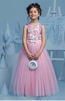 Платье нарядное Роскошь в пол 104-152 см