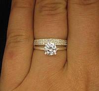 Кольцо серебро 925 проба 16 размер №552