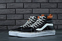 Кеды Vans SK8 Old Skool Black Leather, фото 1