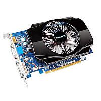 ✪Видеокарта компьютерная GF GT730 2 Gb DDR3 Gigabyte GV-N730-2GI 128 bit VGA DVI HDMI 700 1600MHz для Пк