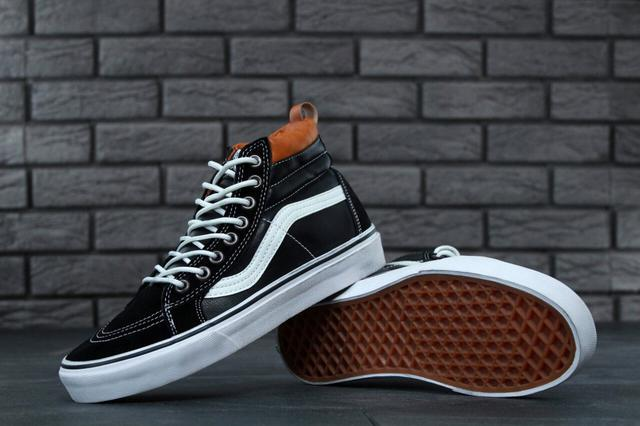 Vans SK8 Old Skool Black Leather