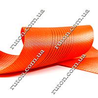 Лента текстильная для строп 10 т - 75 мм (оранжевая)
