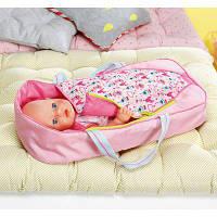 Люлька-переноска для куклы Baby Born Сладкие сны Zapf 824429