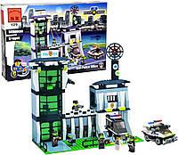 Конструктор Brick Enlighten Police Series Полицейский Участок, 589 дет., 129, 002734, фото 1