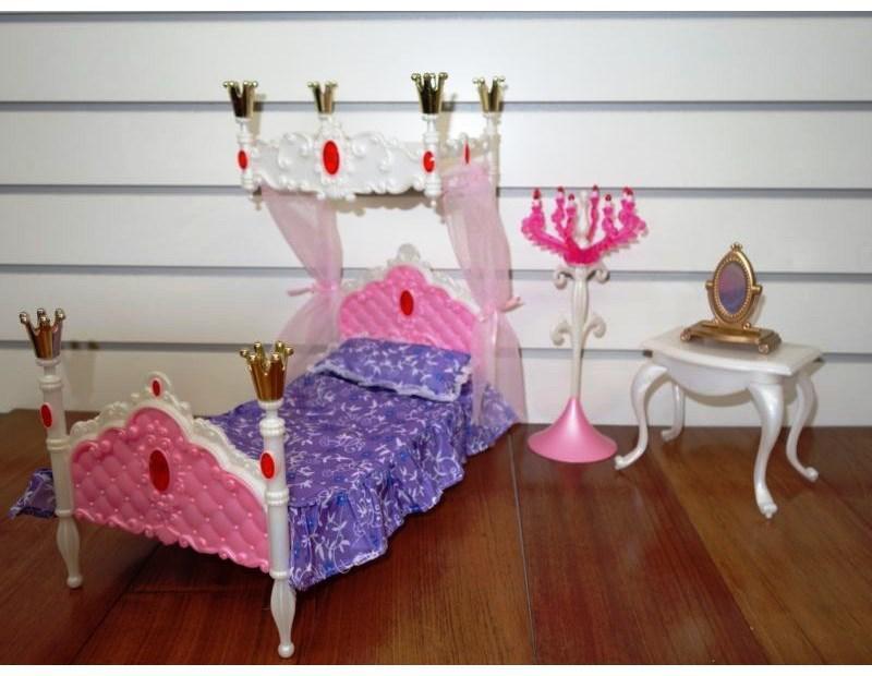 Мебель для кукол типа Барби Глория Gloria 1214 Спальня принцессы