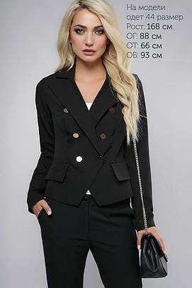 Пиджак с пуговицами Черный