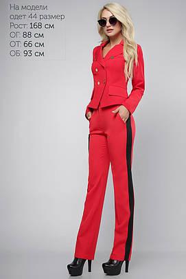 Пиджак с пуговицами Красный